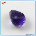glass gems/gem hot gemstone/bullet shape gemstone