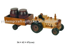 wooden model car for home decor or gift