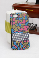 New Product! for Apple iPhone 5 Case, PC+TPU iFace Mall Case, Support LOGO Customized