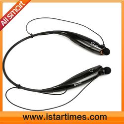 OEM promotion gift digital FM, TF card slot sport neckband bluetoothwireless headset