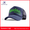 Wholesale Embroidery Custom Foam Navy Blue Snap back Trucker Mesh Cap And Hat With Curved Brim Unisex For Sale
