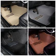 colorful decorative 5D car floor mats Car decorative kit car non-slip dashboard mat