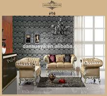 Dxy-841 # classic home office mobiliário sofá de madeira quadro