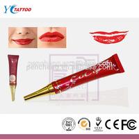 permanent makeup cosmetics lip gloss magic 7 days pink lip cream keep lip lightening