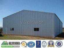 Industrial Prefab Storage Housing Steel Frame Warehouse Shed