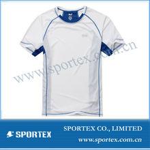 Mens running breathable T-shirt, coolmax quick dry fitness top OEM/ short/hiking/cycling sport shirt custom