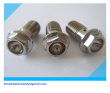 titanium banjo bolts m10*45 mmfor motorcycles for sale