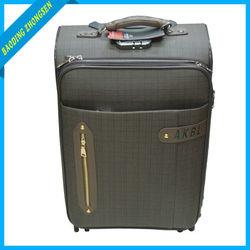 President Pu Leather Luggage/vintage pu leather luggage