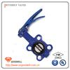 pneumatic pvc plastic butterfly valve
