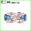 HW5178 The most shiny colorful shoe buckles for women shoes