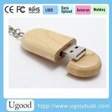 Most popular Slim flat wood usb drive 128GB USB 3.0,Wood usb memory wholesale in Sweden,Custom engraving wood usb memory stick