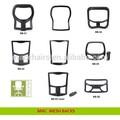 Cadeira de acessórios, peças da cadeira, cadeira do escritório de componentes de malha de volta