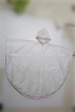 High quality sage cheap transparent rainwear