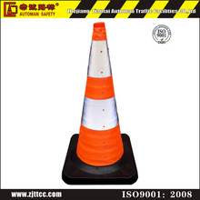 Road safety Orange PVC 28 Traffic Cone