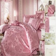 100% Silk Cotton Jacquard Cot Crib Baby Bedding Set in China