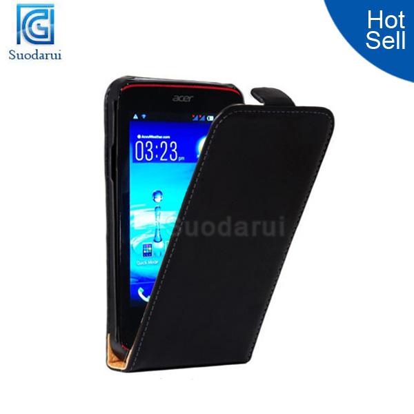 Hot Ultra Slim Leather Flip Case For Acer Liquid Z4 Cover - Buy Flip ...