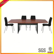 U shape curved conference table wooden executive desk