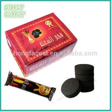 28mm round lump hookah charcoal