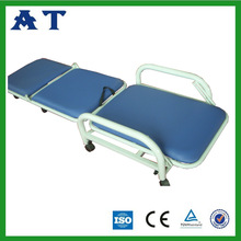 CE&ISO with soft mattress hospital metal frame medical recliner chair