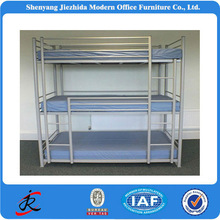 hot sale cheap metal bunk bed/metal triple bed