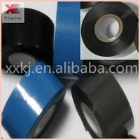2014 good sale black color 25mm*120m size laser toner foil for plastic bags