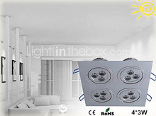 fast seller in brazil store home led lighting12w embedded ceiling lights
