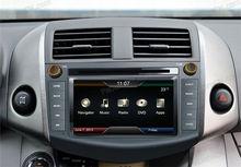 new car dvd player car accessories hd radio car plug and play for Toyota RAV4 2012