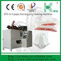 alta qualidade da placa de papel para cachorro quente que faz a máquina que pode trocar várias formas do modelo de