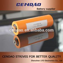 cendao 38120 10ah 3.2v lifepo4 battery cells lifepo4 Type and 38*120mm Size 38120s 10ah 3.2v lifepo4 battery cells