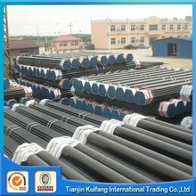 large diameter carbon seamless astm a106 gr.b schedule 80 pipe