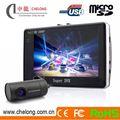 Shenzhen chelong novos 4.3 polegadas 140 graus anti- roubo gprs gravador de vídeo online