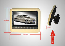7inch Headres DVD player with HDMI input