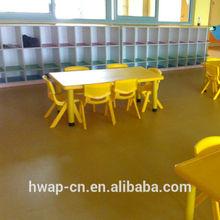 Hot use vinyl flooring for kindergarten school with variety colors / plastic flooring for commercial flooring