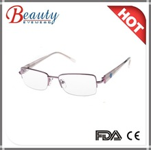 Popular high quality acetate frame injection optical frame for younger