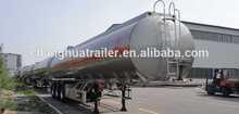 3 axle 50000L ALUMINUM/Steel /Stainless Dieseal oil tanker storage tank