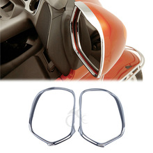 Chrome Mirrors Trim Decoration For GL1800 GOLDWING 2001-2011 02 03 04 05