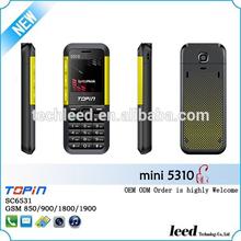 1.44inch mini5310 small size mobile phone sale good in Columbia dual sim card