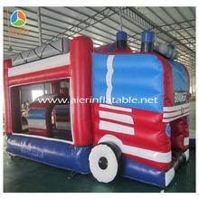 Fire truck bouncy castle,fireman sam inflatable bouncy castle