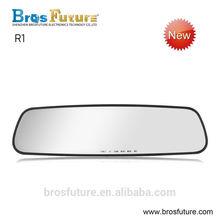 Brosfuture R1 mirror loop recording auto safety camera car in dash camera car rear camera
