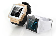 """Smart Watch Phone 1.54"""" Capacitive Touch Screen Bluetooth GSM Smart Watch Mobile Phone MP3 FM Radio with Sim Card Slot"""