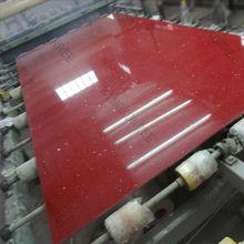 artificial quartz stone mirror surface / Polished Quartz Crystal Stone