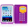 Purple 3D telephone Design Silicone Case for iPad Mini2-897
