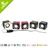 factory direct sale best 2.0 Channel mini portable speaker system