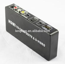 HDMI To Composite RCA & S-video Converter Scaler 720p 1080p PAL/NTSC
