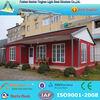 cheap modern prefab villa prefabricated steel frame villa