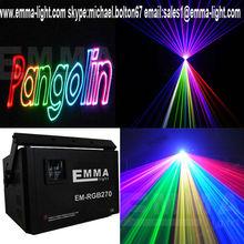 5000mW/5W Full Colour Night Club/Mobile Disco RGB ILDA Laser System