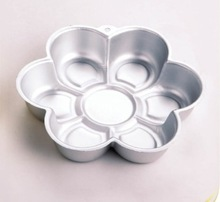 China Supplier 6 Petals Flower/Daisy Shaped Cake Pan Cake Mould Cake Tin