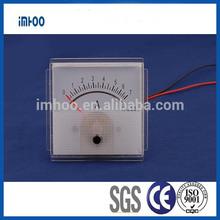 Panel recording Amp Meter 60x60 panel meter Ammeter ampere meter specification