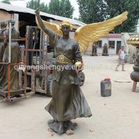 Large Bronze Outdoor Angel Statue Sculpture for Sale