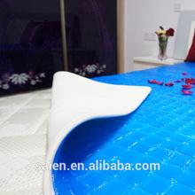 luxury home decor gel memory foam mattress cover for water mattress